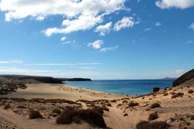 Playa Papagayo - Lanzarote, Canarie, Spagna