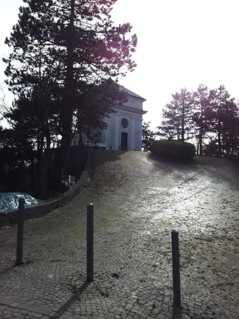 Santuario di Santa Madonna della Guardia - Ceranesi, Liguria, Italia
