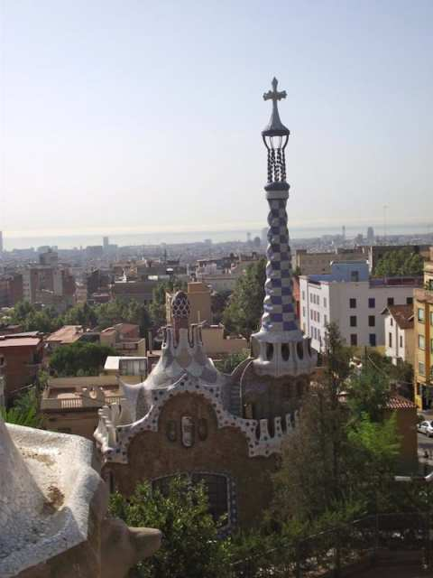 Parc Guell - Barcellona, Spagna