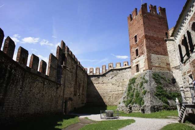 Castello di Soave - Veneto, Italia