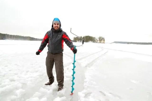 Pesca sul ghiaccio, Finlandia