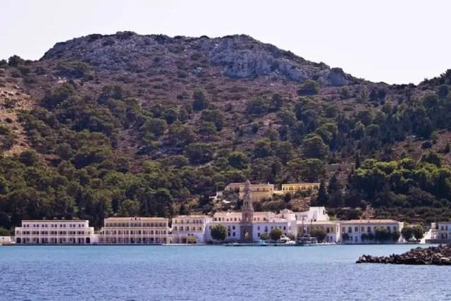 Monastero di San Michele - Panormitis, Grecia