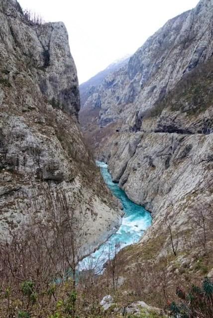 Canyon di Moraca, Montenegro
