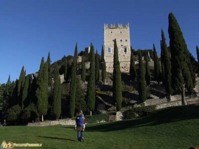 Riva del Garda -  Il Castello di Arco