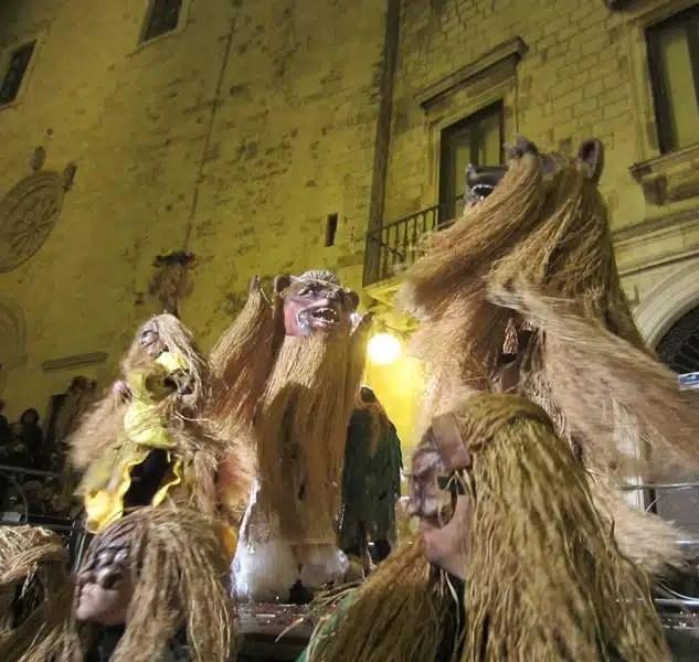 Festa dell'orso - Carnevale di Putignano, Italia