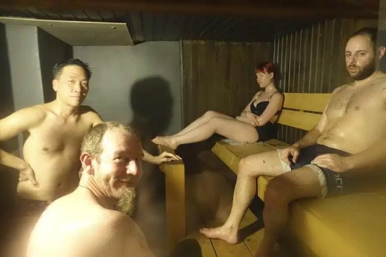Sauna in Finlandia