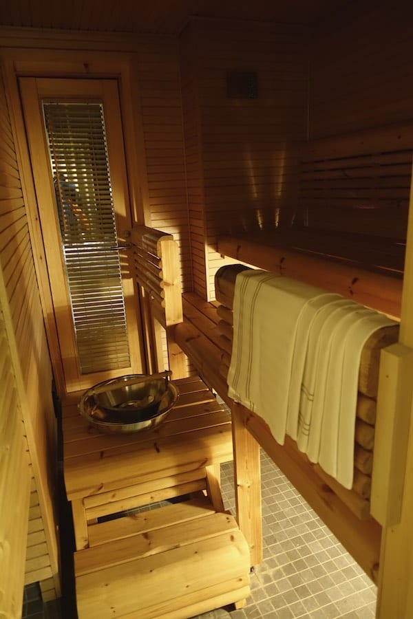 La sauna in Finlandia