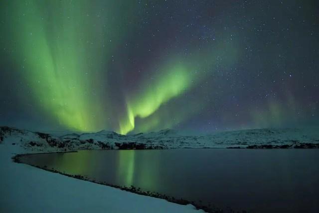 Aurora boreale - Finlndia in Camper