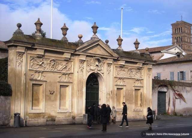Villa del Priorato di Malta - Roma, Italia