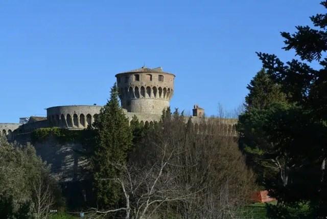 Rocca Medicea - Volterra, Toscana