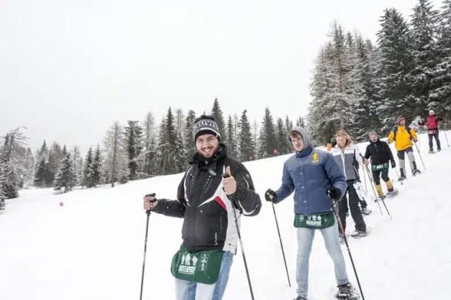 Percorso per Baite Aperte Dolomiti