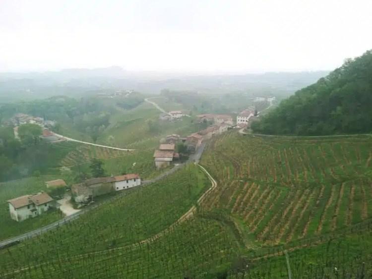 Vista panoramica Conegliano Valdobbiadene