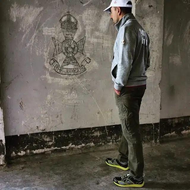 I graffiti al Campo 78, Sulmona