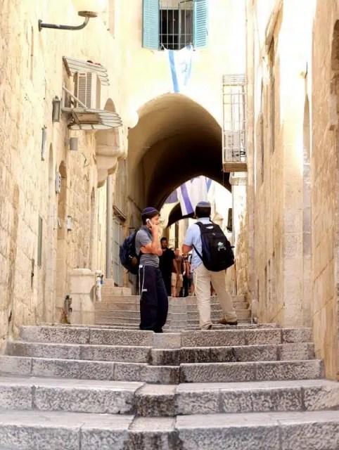 quartiere ebraico - Gerusalemme, Israele