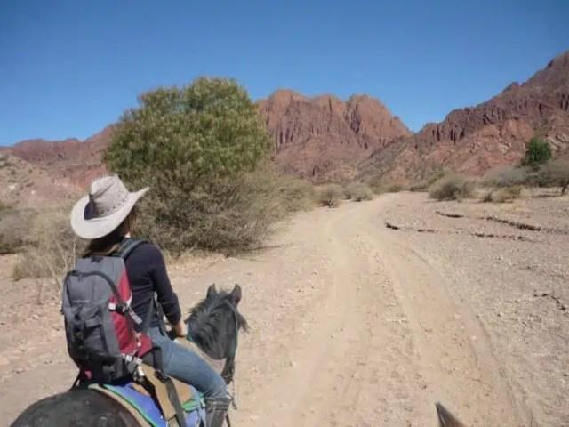 Passeggiata a cavallo - Tupiza, Bolivia