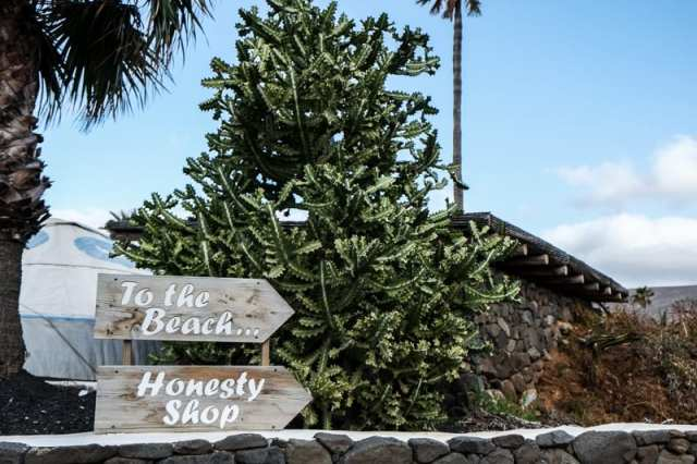 Honesty Shop - Lanzarote, Canarie