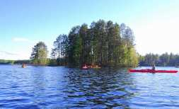 Kayak - Lago Saimaa, Finlandia