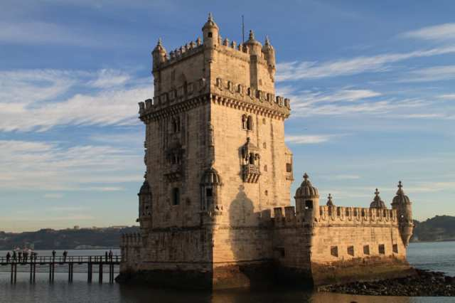 Torre di Bélem - Lisbona, Portogallo