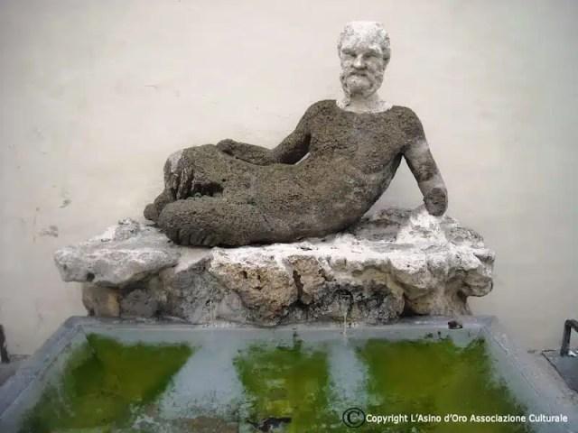 Statua del fauno, Via Babuino - Roma