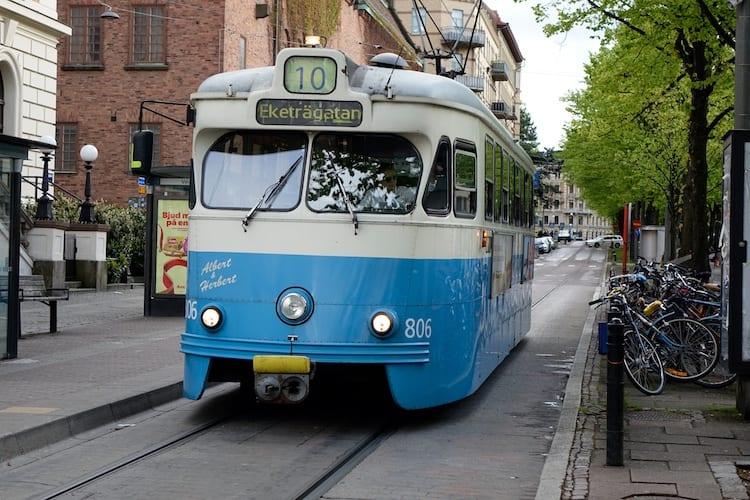 Tram storico - Göteborg, Svezia