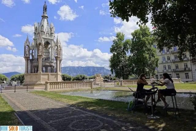 Giardini di Brunswick - Ginevra, Svizzera