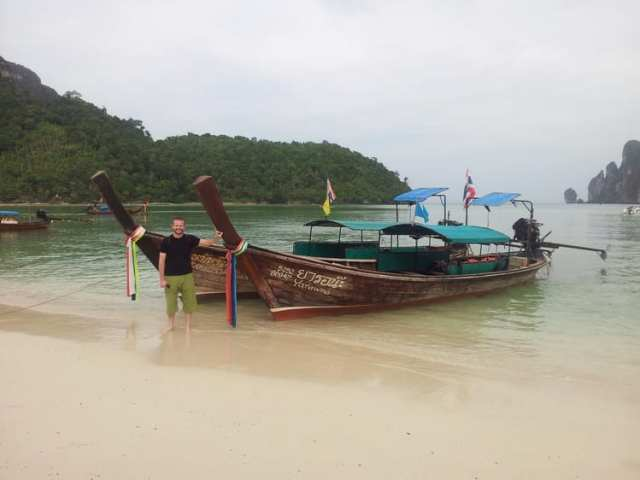 Long tail boat - Phi Phi, Tailandia