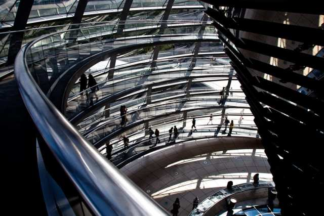 La cupola del Bundestag (foto di gigilivorno)