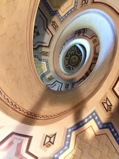 Scala di Palazzo Barozzi – Vignola (MO)