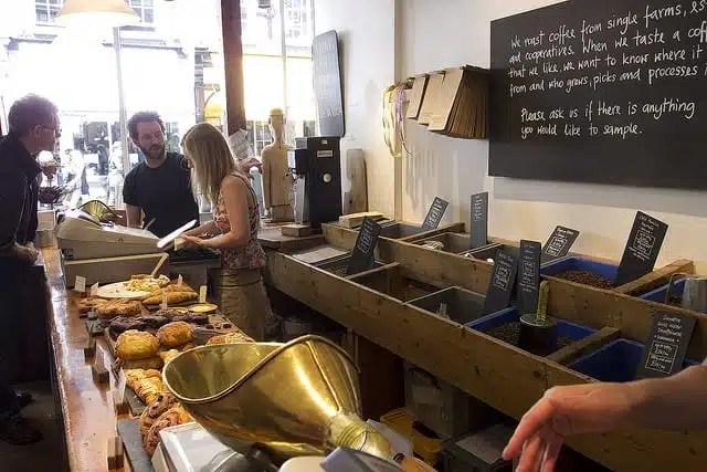 Monmouth Coffee - Londra - cucina inglese