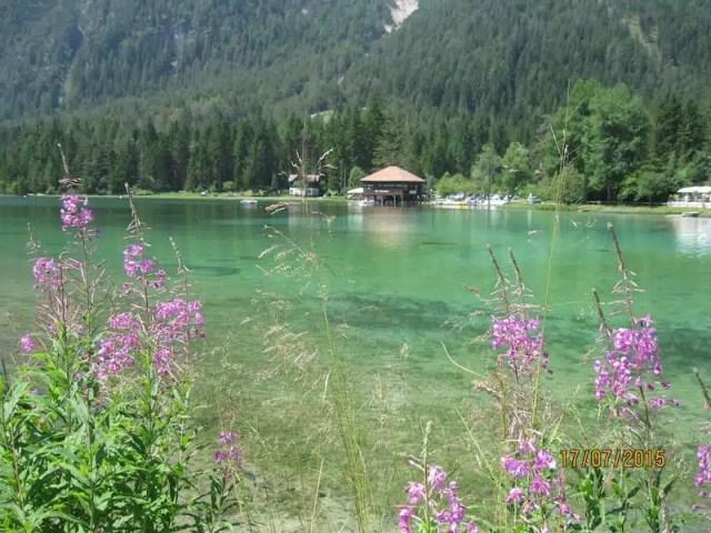 Lago alpino - Ciclovia dell'Amicizia