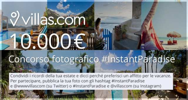 #InstantPAradise, contest @Villascom