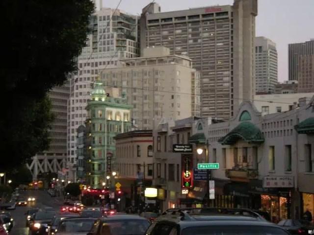Columbus Avenue - San Francisco, USA
