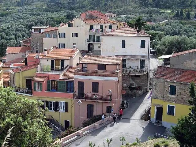 Lingueglietta, Liguria