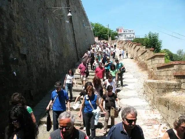 Napoli - Pedamentina di San Martino