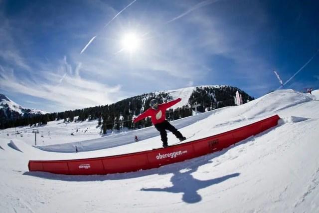 Obereggen-Snowboard