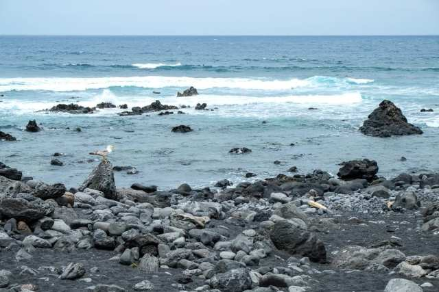 Playa de El Golfo - Lanzarote, Canarie, Spagna