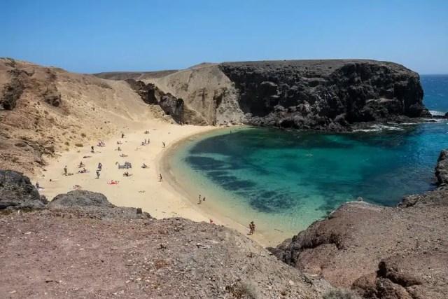 Playa de Mujeres - Lanzarote, Canarie, Spagna