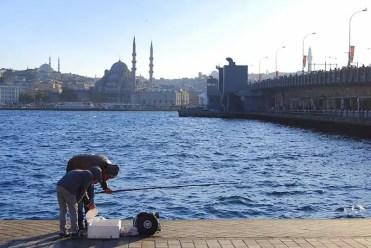 Ponte di Galata - Istanbul, Turchia