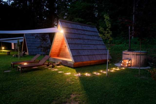 Gozdne Vile Glamping - Slovenia