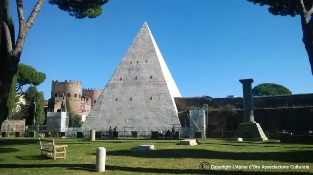 Piramide Cestia - Roma