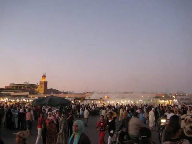 Jamaa El Fna - Marrakech, Marocco