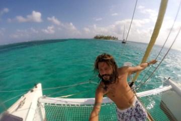 catamarano Claudio Pelizzen