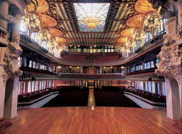 Palau de la Mùsica Catalana - Barcellona, Spagna