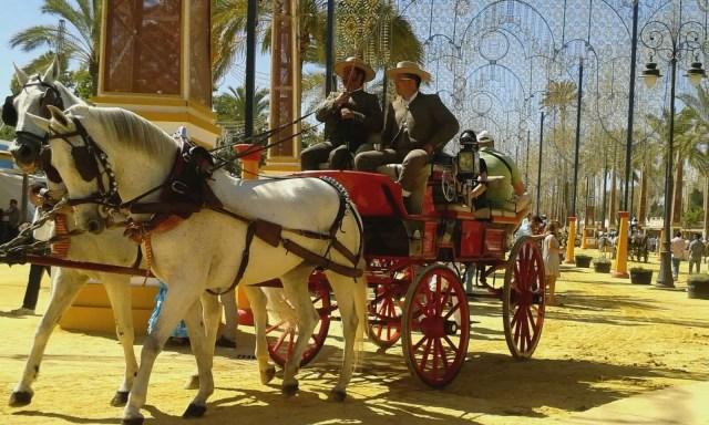 Feria del caballo a Jerez de la Frontera - Andalusia, Spagna