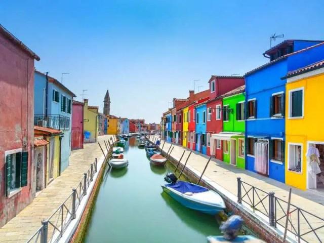 Burano - Venezia in motoscafo
