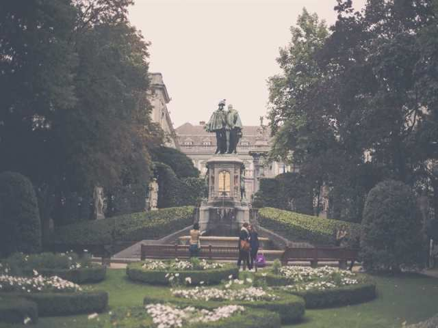 Giardini du Petit Sablon - Bruxelles, Belgio