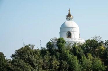 Pagoda della Pace nel Mondo - Pokhara, Nepal