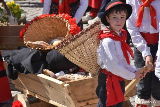 Sfilata dei pasquali - Pasqua a Bormio, Valtellina