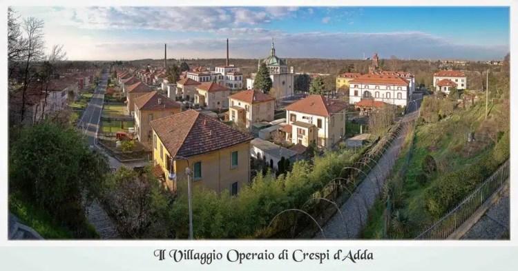 villaggio operaio Crespi d'Adda