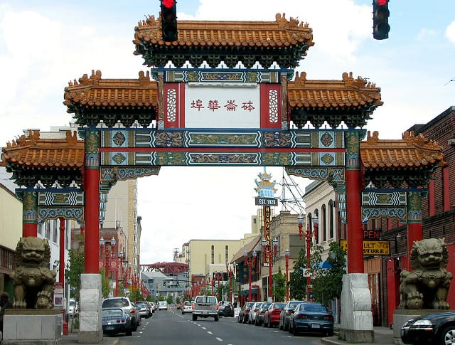 Portland, Oregon, USA - China Gate
